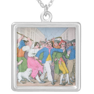 The Liberty of the Subject, publ. by H. Silver Plated Necklace