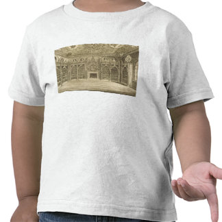 The Library, engraved by Godfrey, from 'Descriptio Tshirts
