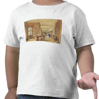 The Library, Windsor Castle, 1838 (colour litho) Shirt