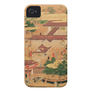 The Life and Pastimes of the Japanese Court, Tosa iPhone 4 Covers