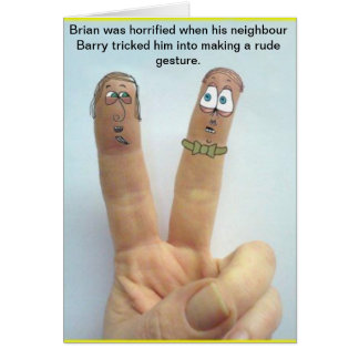 The Life and Times of Brian Grimes Greeting Card