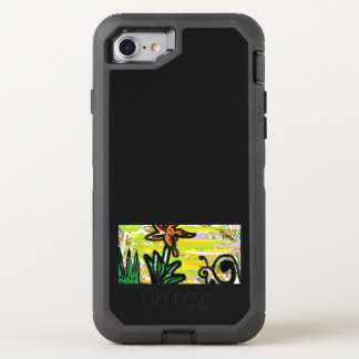 The Life of a Tiger Lily and Snail OtterBox Defender iPhone 8/7 Case