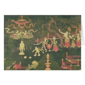 The Life of Buddha Shakyamuni Card