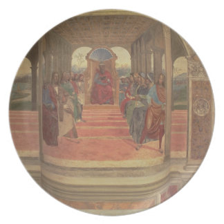 The Life of St. Benedict (fresco) (detail) Dinner Plates