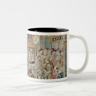 The Life of St. Remigius  bishop of Reims Two-Tone Coffee Mug