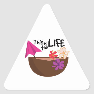 The Life Triangle Stickers