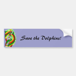 The Lifesaver Dolphins bump up your sticker. Bumper Sticker