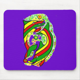 The Lifesaver Dolphins Mouse Pad