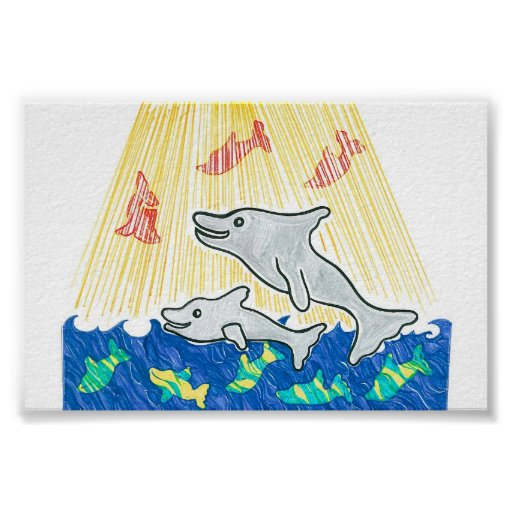 The Lifesaver Dolphins Poster