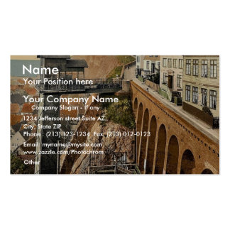 The Lift, Helgoland, Germany magnificent Photochro Pack Of Standard Business Cards