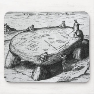 The Lifted Stone, illustration from Mouse Mat