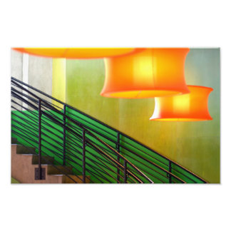 The Light Above The Stairs. Photo Print