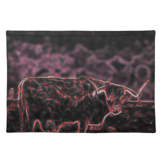 The Light Bull (The Bull) Placemat