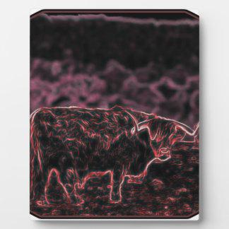 The Light Bull (The Bull) Plaque