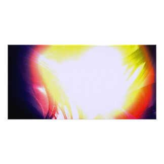The Light - Digital Abstract Photo Greeting Card