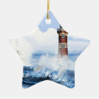 THE LIGHT HOUSE TOWER FINISHED. CHRISTMAS ORNAMENT