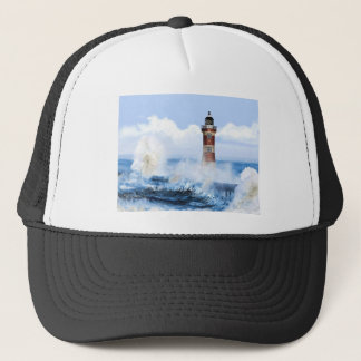 THE LIGHT HOUSE TOWER FINISHED. TRUCKER HAT