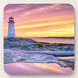 The Light Keeper | Peggy'S Cove Beverage Coasters