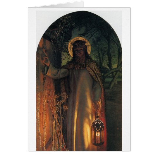 The Light of the World Card