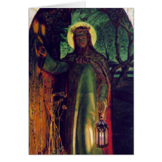The Light of the World. William Holman Hunt. 1854 Card