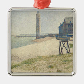 The Lighthouse at Honfleur, 1886 (oil on canvas) Christmas Ornament