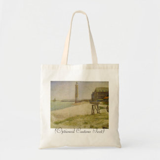 The Lighthouse at Honfleur Budget Tote Bag