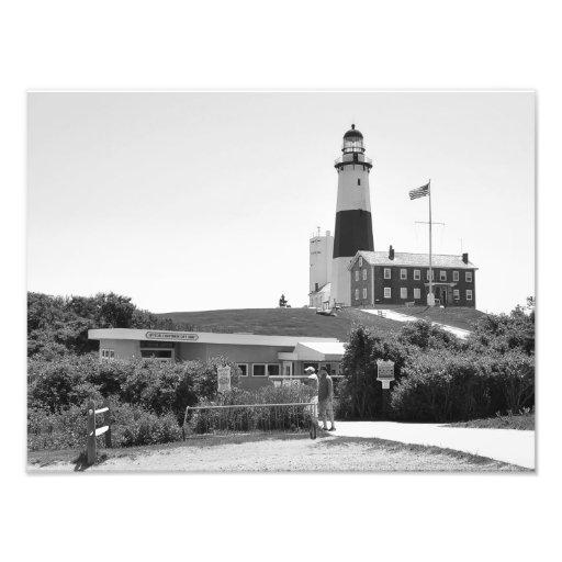 The Lighthouse at Montauk, NY Photo Print