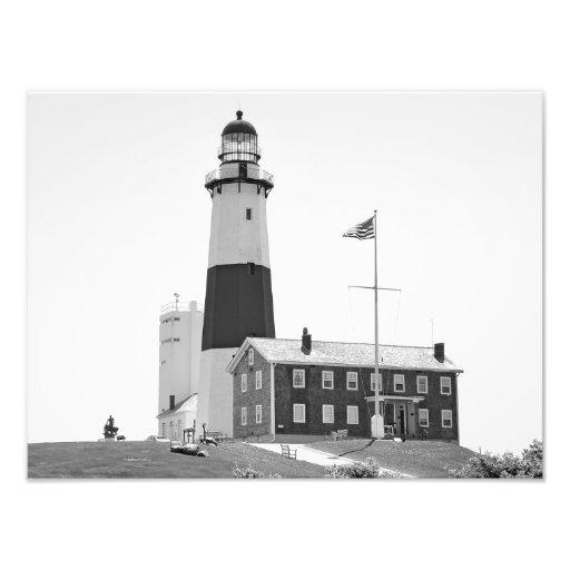 The Lighthouse at Montauk, NY Photo Art