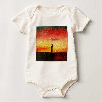 The Lighthouse Baby Bodysuit