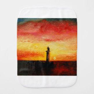 The Lighthouse Burp Cloth