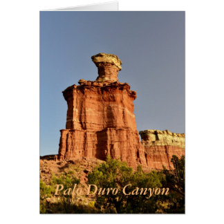 The Lighthouse in Palo Duro Canyon Card
