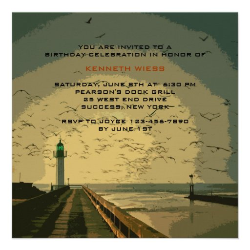 The Lighthouse Invitation
