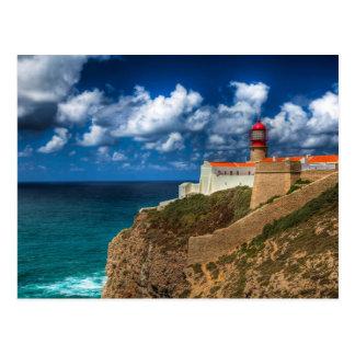 The Lighthouse of Cabo de São Vicente - Portugal Postcard