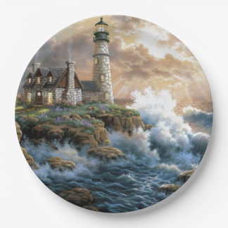 The Lighthouse Paper Plate