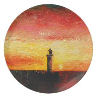 The Lighthouse Plate