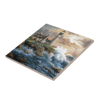 The Lighthouse Tile