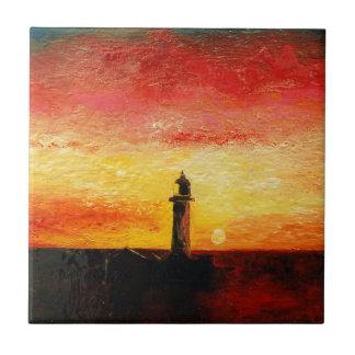 The Lighthouse Tile
