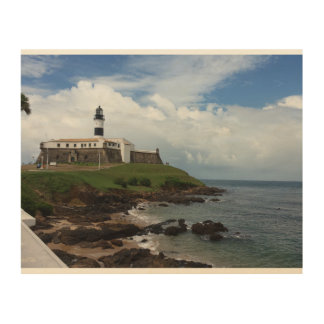 The Lighthouse Wood Wall Art