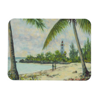 The Lighthouse Zanzibar 1995 Rectangular Photo Magnet