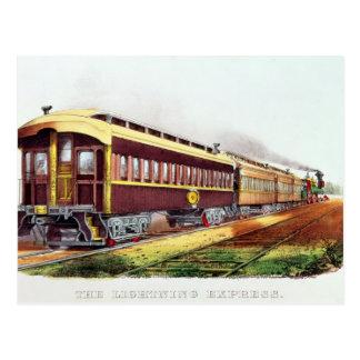 The Lightning Express Postcard