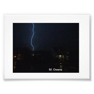 The lightning Power of God! Photo Art