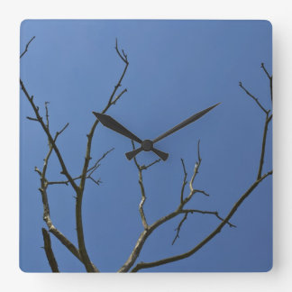 The Lightning Tree Wall Clock