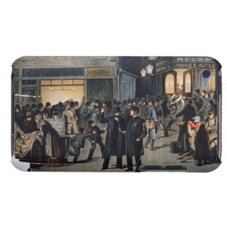 'The Lights O' London' (colour litho) iPod Touch Case-Mate Case