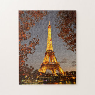 The Lights of La Tour Eiffel - Paris Puzzle