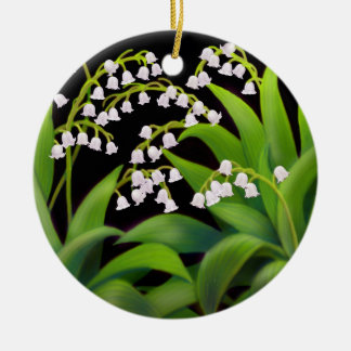 The Lily of the Valley Floral Ornament