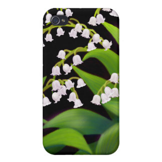 The Lily of the Valley Floral Speck Case iPhone 4/4S Cases