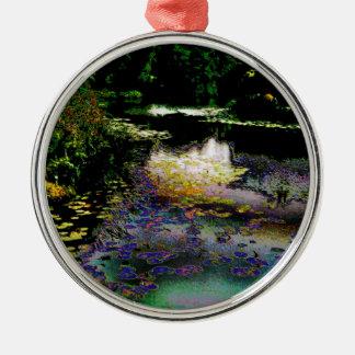The Lily Pond Christmas Ornament