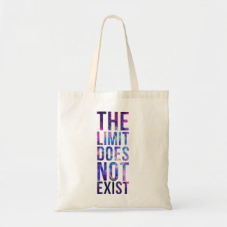 The limit does not exist. budget tote bag