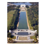 The Lincoln Memorial and World War II Memorial Post Card