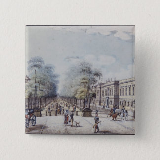 The Linden with the Academy, Berlin 15 Cm Square Badge